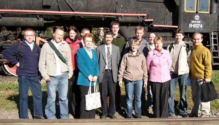 Verkehrte Welt im Jahr 2006 in Samara
